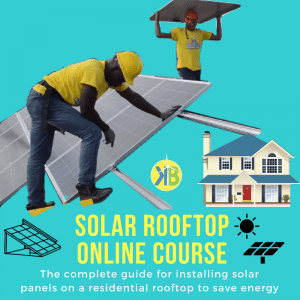 Solar rooftop course a guide for installing solar panels on a residential roof
