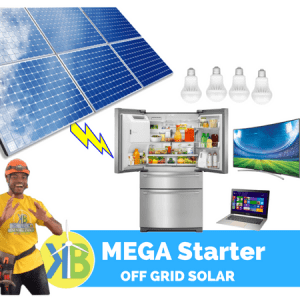 Mega Starter Off Sistem Suria Grid 1.7kW Kit -6 Panel PV