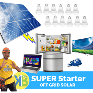 Sistem Surya Super Starter Off Grid Kit 3.3kW - 12 Panel PV