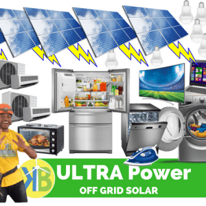ULTRA POWER OFF GRID SOLAR Kitete oti mai i KB GROUP me 45 nga Panui Panui