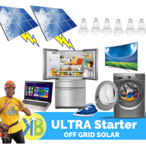 Ultra Starter Off Grid Tata Surya 4.95kW Kit -18 Panel PV
