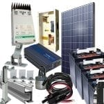 solar junior complete kit from Kimroy Bailey Renewables is the one stop shop to get started with a super reliable solar setup